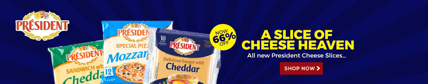 President Cheese Slices