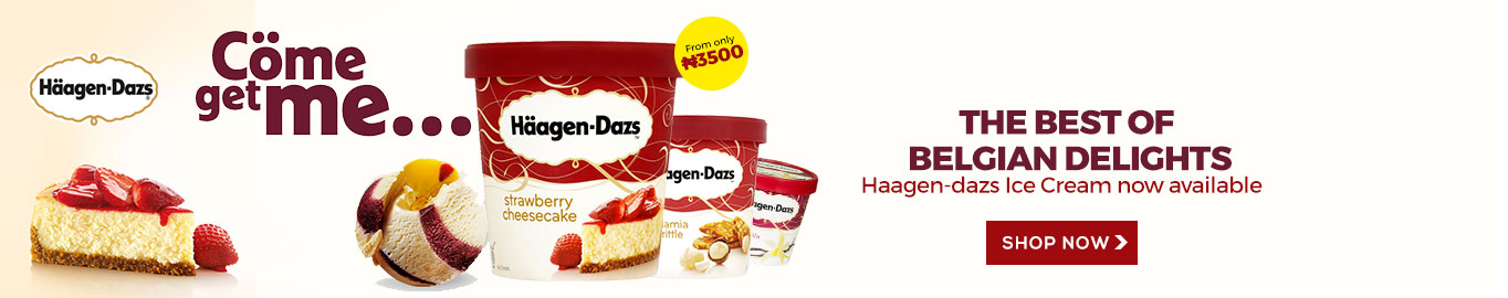 Haagen-Dazs Belgian Ice Cream