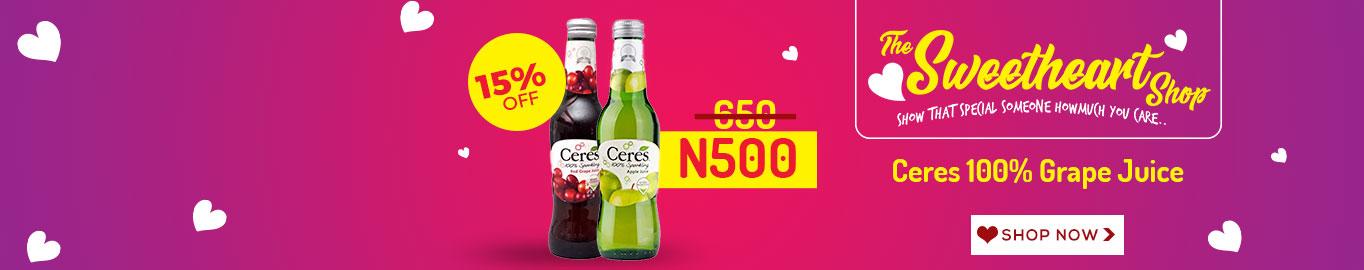 Ceres 100% Grape Juice