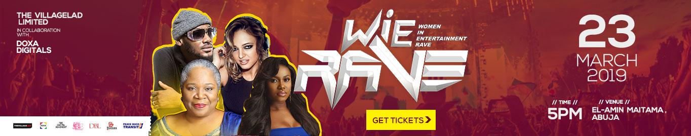 WIE Rave Tickets